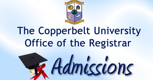 Copperbelt University, CBU Admission and Application Form: 2019/2020