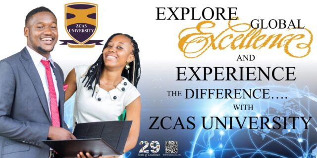 ZCAS University, ZCAS Admission and Application Forms: 2019/2020